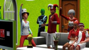 Sims 3 and UEFA EURO by GlossyGem