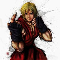 Ken - Street Fighter IV by Juicy-Design