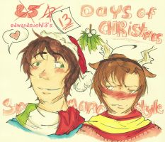 13 Days of Christmas Spamano Event! by edwardsuoh13