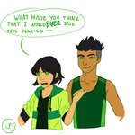 Greens, are you guys dating? by crazymon321