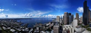 Seattle Harbour by IvanAndreevich
