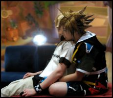 Roxas and Sora by KoiCosplay