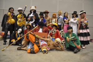 Going Merry Cosplay Group CF2011 Day 2 by riezforester