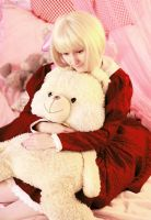 APH: Teddy bear by Aster-Hime