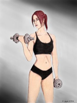 Work Out by BGShepard