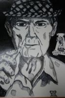 Paul 'Bear' Bryant by nicolerenaedallaire