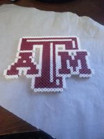Texas A and M Bead Sprite by dumbrock1