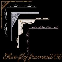 Photoshop frame set 06 by shoe-fly