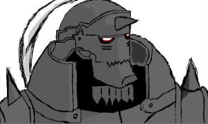 Alphonse Elric by chickencurry312