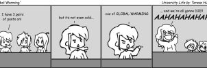 Global Warming by t-e-a