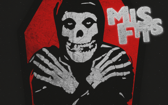 Misfits Wallpaper by fueledbychemicals
