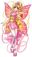 Butterfly Princess by sonialeong