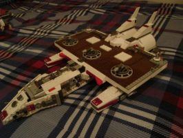 Lego Battle Cruiser 2 by Taggerung1