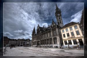 Walkin' in Ghent by rhipster