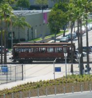 View of PE Red Car 501 from USS Iowa by rlkitterman
