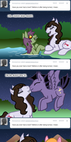 Ask Darren the Vampony Lovers by The-Clockwork-Crow