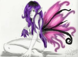 Shy Fairy Photoshop by OxBloodrayne1989xO