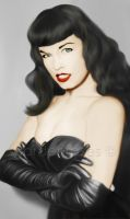 Homage to bettie by gardenroses