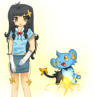 Shinx / Sheinux Girl by Mindim-chan