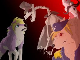 Candle Cove (wolf version) by TerouFluffy