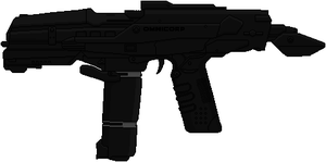 Omnicorp M2 Battle Rifle (Robocop) by Hybrid55555