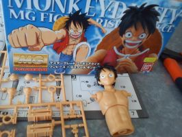 Luffy MG Figure by CronoCain
