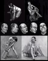 Figure Study Collection by Zoroko