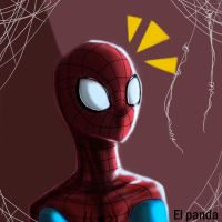 Spider sense! by pandamune