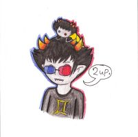 HS: Sollux Captor by Rotommowtom