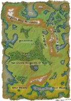 Map of Illiyan by Anararion