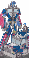 TF-Tres Optimus Color by Nintendraw