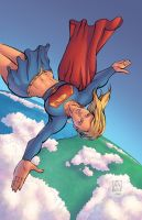 Supergirl by J-Skipper