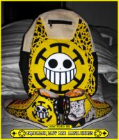 The Trafalgar Law Bag and Shoes Customize by Elison182