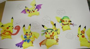 SSBB Pikachu Cosplay Full by LilPumpkinKing