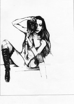'My fetish' drawing by hotchip