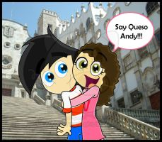 Say Queso Andy by Leneeh