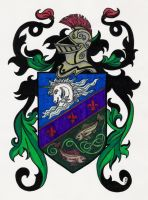 Coat of Arms by Shara-Moonglow