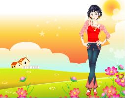 Free Style Fashion dressup by Brandee-Ssj-Doll