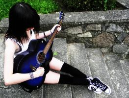 guitar by livingdeathdoll