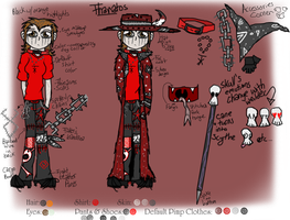 Thanatos Reference Sheet by R-D-V-fan