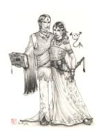 Commission - A Wedding by fongmingyun