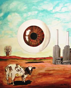 Pink Floyd meets Dali by AnaBelenRuiz