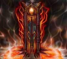 Fire Mage Tower by quotidia