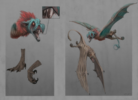 Creature design by Velkss