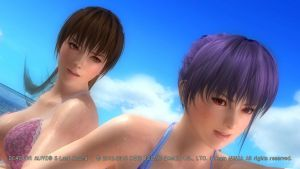 DEAD OR ALIVE 5 Last Round  Kasumi/Ayane7 by aponyan