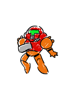 Space Champ by WaywardDoodles