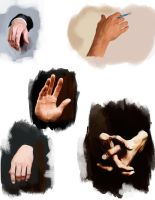 Hands (B.Cumberbatch) by Namecchan