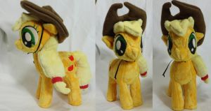 Filly AppleJack Plush by Cryptic-Enigma