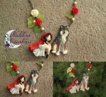 Little Red Riding Hood Necklace by Nakihra