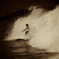 Surfing In Anglet 2 by Abylone